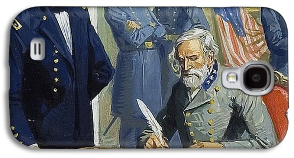 General Ulysses Grant Accepting The Surrender Of General Lee At Appomattox  Galaxy S4 Case