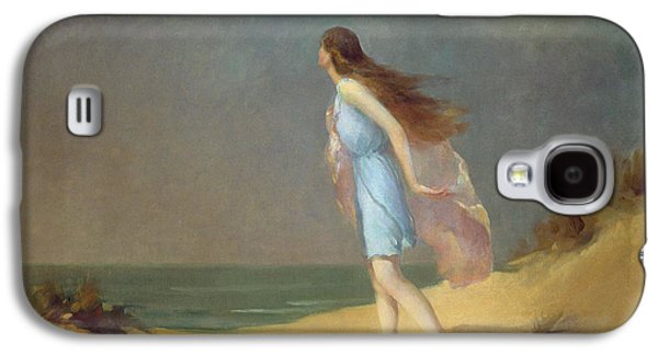 Girl On The Beach  Galaxy S4 Case by Frank Richards