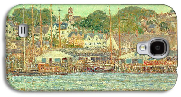 Gloucester Harbor Galaxy S4 Case by Childe Hassam