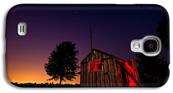 Glowing Shed Galaxy S4 Case by Cale Best