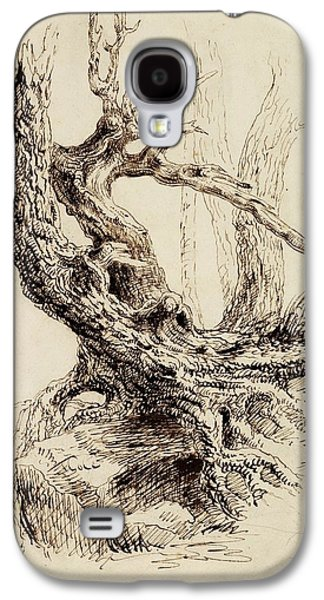 Gnarled Tree Trunk Galaxy S4 Case by Thomas Cole