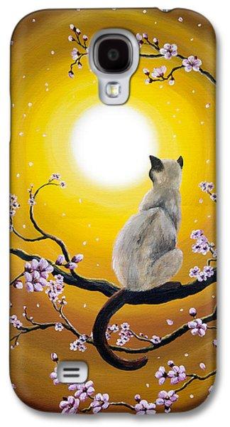 Golden Afternoon Sakura Galaxy S4 Case by Laura Iverson