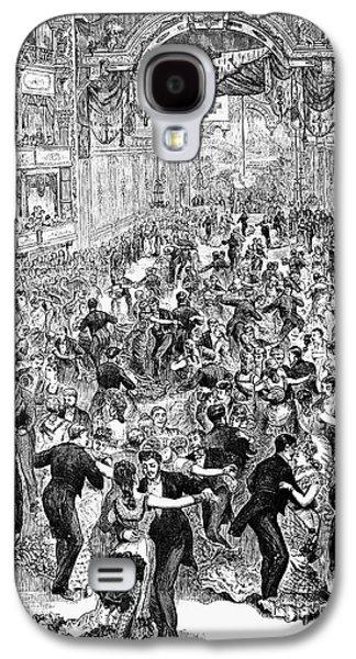 Grand Ball, New York, 1877 Galaxy S4 Case