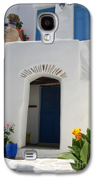 Greek Doorway Galaxy S4 Case by Jane Rix