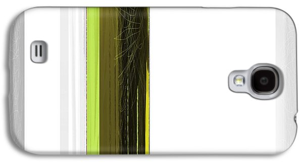 Green And White Galaxy S4 Case by Naxart Studio