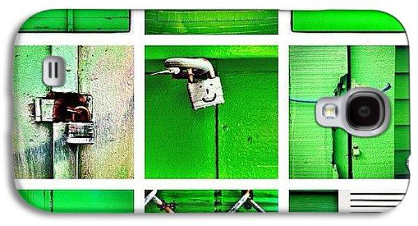 Green Galaxy S4 Case by Julie Gebhardt