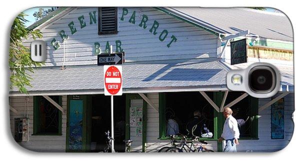 Green Parrot Bar In Key West Galaxy S4 Case