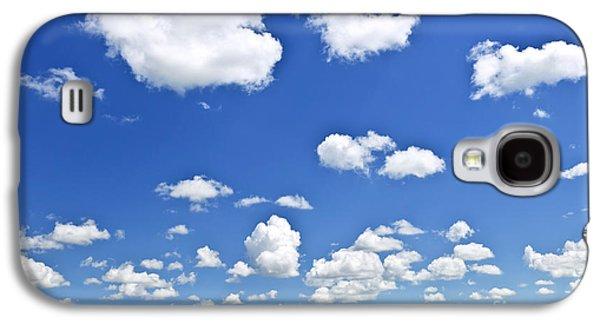 Green Rolling Hills Under Blue Sky Galaxy S4 Case by Elena Elisseeva