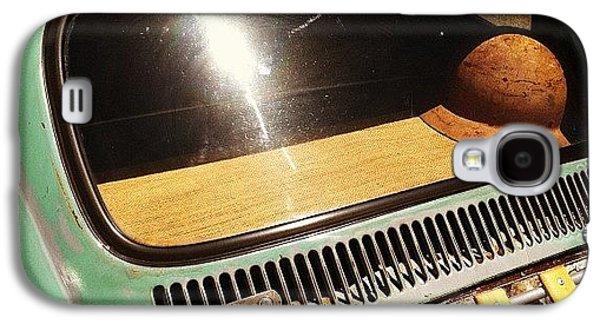 Classic Galaxy S4 Case - Green Vw by Gwyn Newcombe