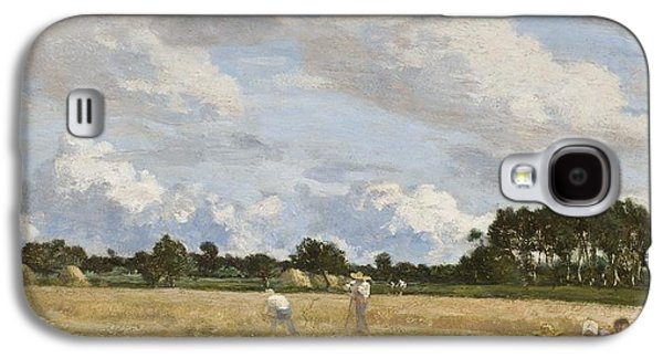 Haymaking Galaxy S4 Case by Eugene Louis Boudin