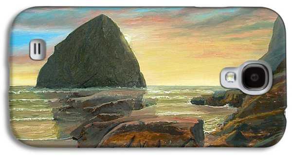 Haystack Kiwanda Sunset Galaxy S4 Case
