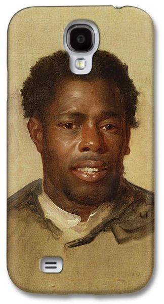 Head Of A Man Galaxy S4 Case by John Singleton Copley