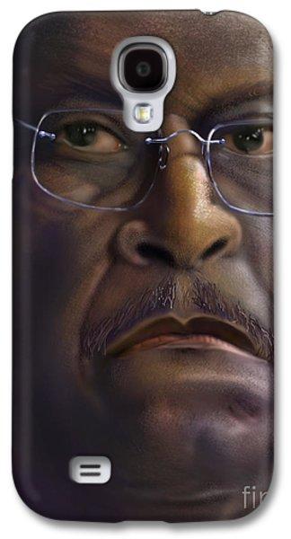 Herman Razing Cain Galaxy S4 Case by Reggie Duffie
