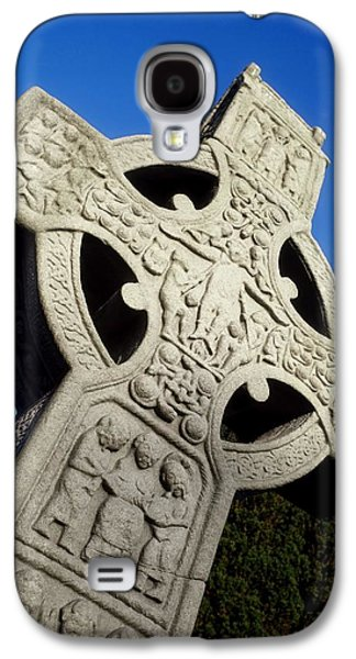 High Cross, Monasterboice, Co Louth Galaxy S4 Case by The Irish Image Collection
