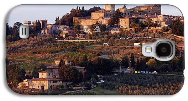 Hill Town Of Panzano At Dusk Galaxy S4 Case by Jeremy Woodhouse