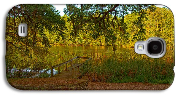 Hobcaw Barony Pond Galaxy S4 Case by Bill Barber