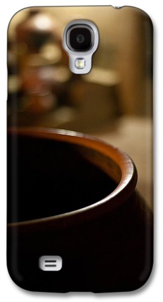 Holding Galaxy S4 Case by Mike Reid