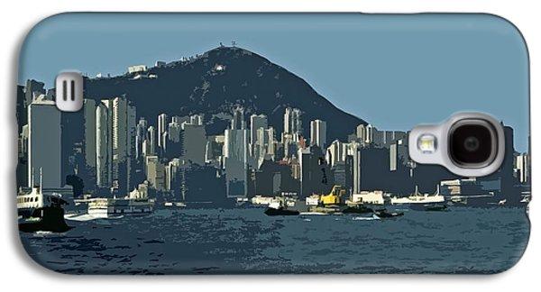 Hong Kong Island ... Galaxy S4 Case by Juergen Weiss