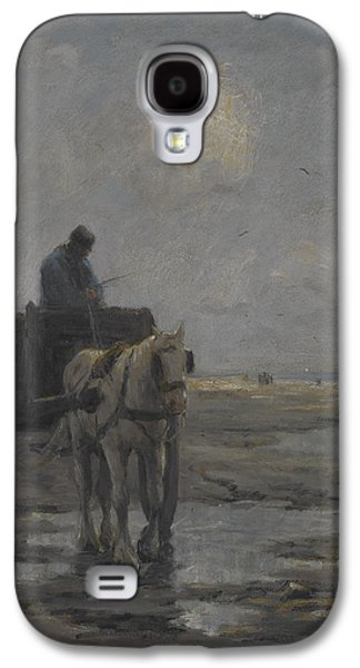 Horse And Cart Galaxy S4 Case