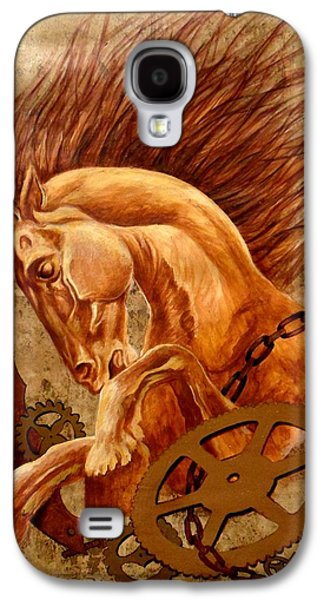 Horse Jewels Galaxy S4 Case by Lena Day