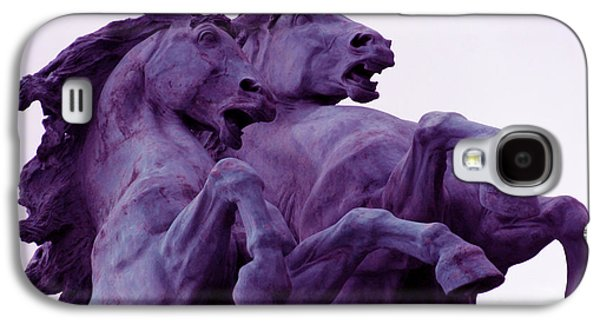 Horse Sculptures Galaxy S4 Case by Angel  Tarantella