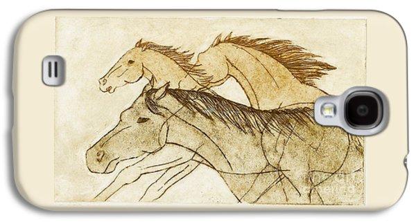 Horse Sketch Galaxy S4 Case