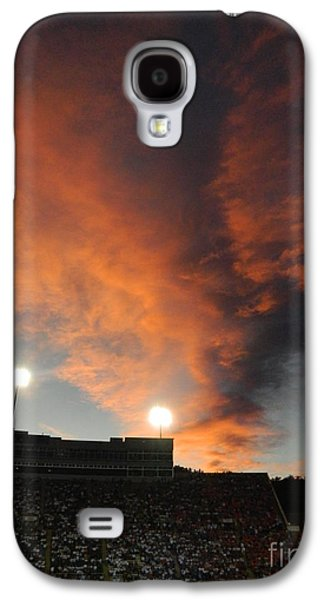 Fort Collins Galaxy S4 Cases - Hughes Stadium Sunset Galaxy S4 Case by Sara  Mayer