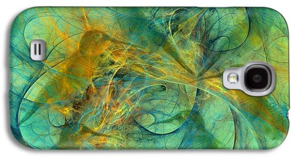 Hummingbirds Galaxy S4 Case by Betsy Knapp