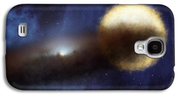 Illustration Of A Bright Star Called Galaxy S4 Case