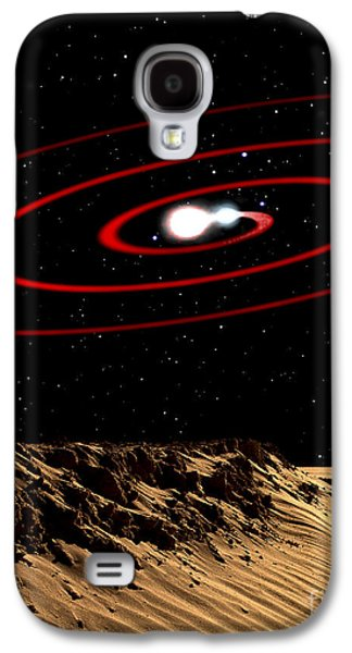 Illustration Of Two Stars That Galaxy S4 Case