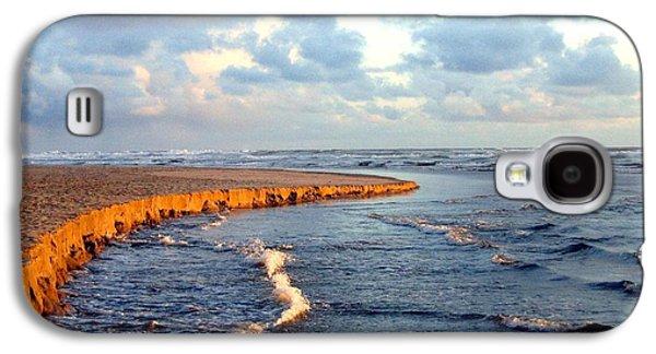Incoming Tide At Sundown Galaxy S4 Case