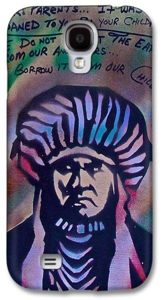 Indigenous Motto Earth Tones Galaxy S4 Case