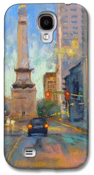 Indy Monument At Twilight Galaxy S4 Case