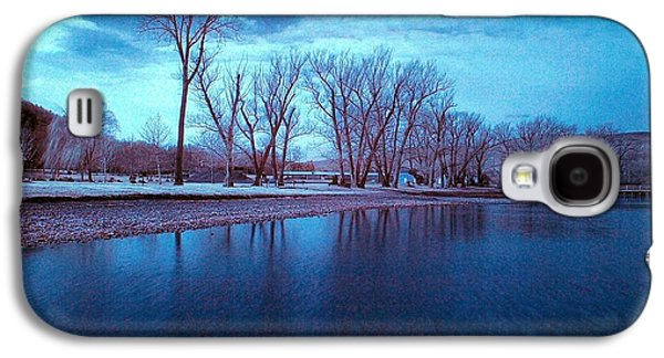 Infrared By The Lake Galaxy S4 Case by Joshua House