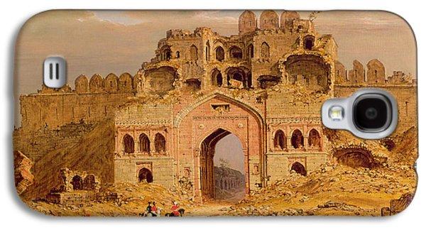 Inside The Main Entrance Of The Purana Qila - Delhi Galaxy S4 Case