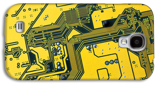 Integrated Circuit Galaxy S4 Case by Carlos Caetano