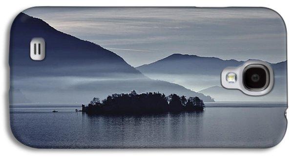 Island In Morning Mist Galaxy S4 Case by Joana Kruse
