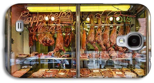 Italian Market Butcher Shop Galaxy S4 Case by John Greim