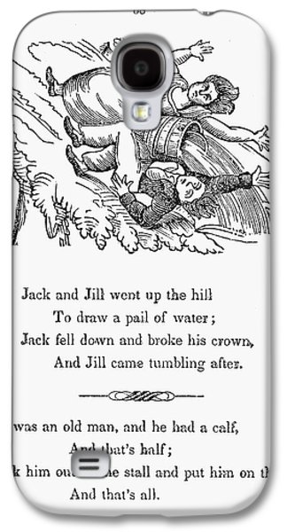 Jack And Jill, 1833 Galaxy S4 Case by Granger
