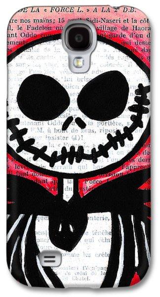 Jack Skellington Galaxy S4 Case by Jera Sky