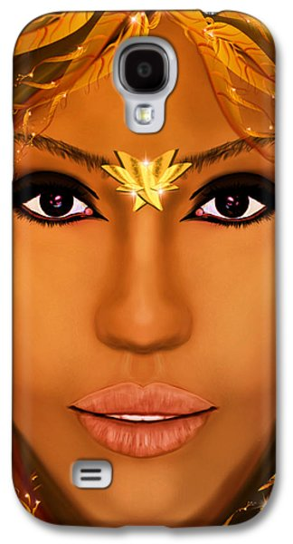 Jessica Alba Fairy Tale Galaxy S4 Case by Mathieu Lalonde