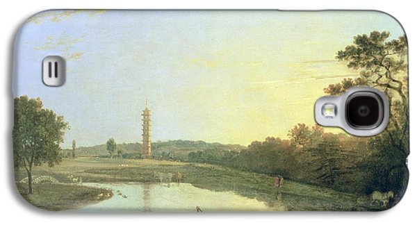 Kew Gardens - The Pagoda And Bridge Galaxy S4 Case