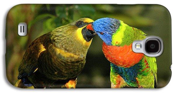 Kissing Birds Galaxy S4 Case
