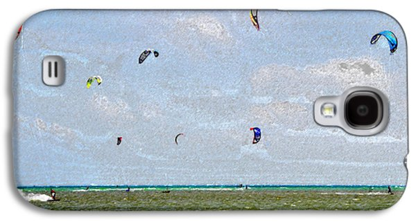 Kites Over The Bay Galaxy S4 Case by David Lee Thompson