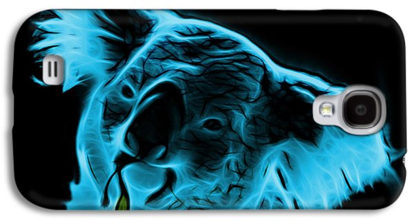 Koala Pop Art - Cyan Galaxy S4 Case by James Ahn