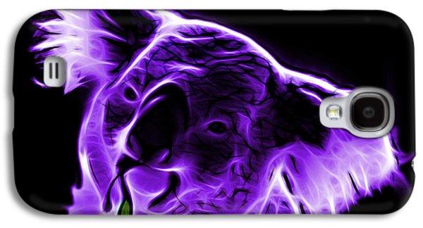 Koala Pop Art - Violet Galaxy S4 Case by James Ahn