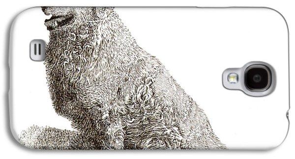 Kuvasz Named Pax Galaxy S4 Case