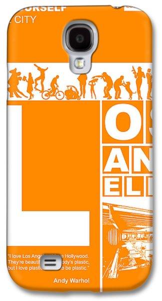 La Orange Poster Galaxy S4 Case by Naxart Studio