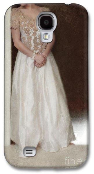 Lacy In Ecru Lace Gown Galaxy S4 Case