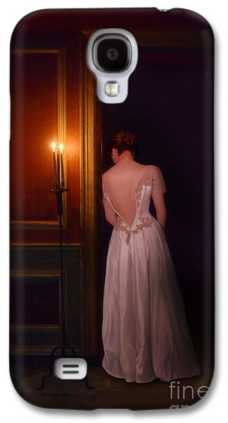 Lady In Candle Light Galaxy S4 Case